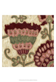 Romantic Chintz II Poster by Karen Deans