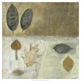 Neutral Leaves III Prints by Elena Ray