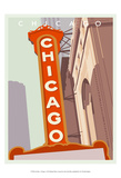 Art Deco-Chicago Posters par Richard Weiss