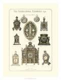 Clocks 1876 Giclee Print