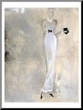 Colors of Night III Kunstdruk geperst op hout van Andrea Stajan-ferkul