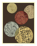 Pattern Composition II Giclee Print by Megan Meagher