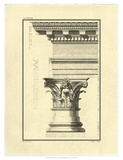 Crackled Column and Cornice I Prints by Giovanni Borra