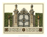 The Grand Garden Gate III Print by O. Kleiner