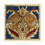 Vintage Woodblock V Giclee Print by Chariklia Zarris