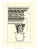 Column and Cornice II Posters by Giovanni Borra