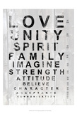 Eye Chart I Print by Andrea James