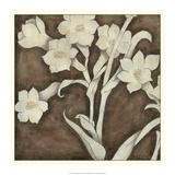 Floral Quartet III Giclee-tryk i høj kvalitet af Megan Meagher