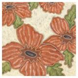 Persimmon Flora II Affiches par Karen Deans