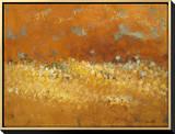Flower Fields II Framed Canvas Print by Lanie Loreth