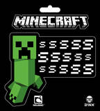 Minecraft - Creeper SSSsss Sticker Stickers