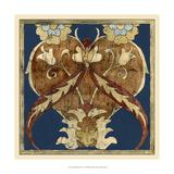 Vintage Woodblock I Giclee Print by Chariklia Zarris