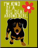 Big Deal Umocowany wydruk autor Ginger Oliphant