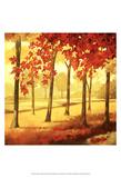 Golden October I Kunst av Graham Reynolds