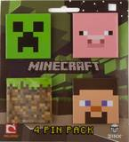 Minecraft Pin Pack Badge