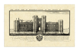 Vintage Wingfield Castle Prints by Nathaniel Buck