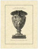 Vintage Harvest Urn I Print by Giovanni Piranesi
