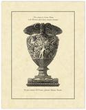 Vintage Harvest Urn I Print by Giovanni Piranesi