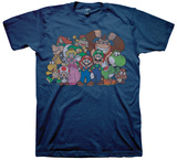 Super Mario Bros. - Group T-shirts