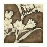 Floral Quartet IV Giclee-tryk i høj kvalitet af Megan Meagher