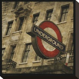 Underground Stretched Canvas Print by John Golden