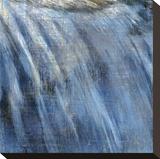 Catarata II Reproducción en lienzo de la lámina por Erin Clark