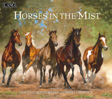 Horses In The Mist - 2013 Wall Calendar Calendars