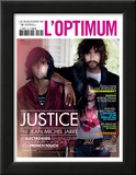L'Optimum, November 2011 - Le Duo Justice, Xavier De Rosnay Plakaty autor Stefano Galuzzi