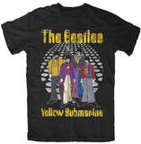 The Beatles - Dance Floor Yellow Submarine T-Shirt