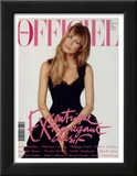 L'Officiel, December 1993 - Claudia Schiffer Posters by Francesco Scavullo