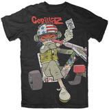 Gorillaz - Chopper Kid (Slim Fit) T-Shirts
