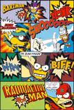 The Simpsons- Comic Poster