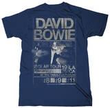 David Bowie - Isolar Tour 1976 (Slim Fit) Koszulki