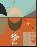 Bow Tie Stretched Canvas Print by Jenn Ski