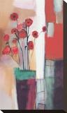 Flowers at Home Impressão em tela esticada por Nancy Ortenstone