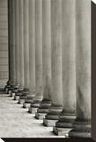 Vertical Columns Opspændt lærredstryk af Christian Peacock