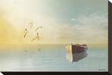 Soft Sunrise on the Beach, no. 11 Reproduction sur toile tendue par Carlos Casamayor