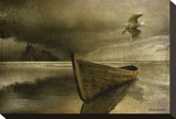 The Solitude of the Sea, no. 3b Stretched Canvas Print by Carlos Casamayor