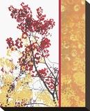 Autumn Fresco Stretched Canvas Print by Erin Clark