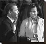 I, Barack Hussein Obama Stretched Canvas Print