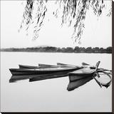 Mirrored Water Impressão em tela esticada por Harold Silverman