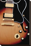Gibson Guitar Stretched Canvas Print by Richard James