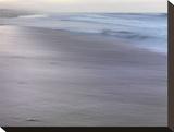 Dreamy Seashore Stretched Canvas Print by Derek Jecxz