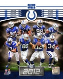 Indianapolis Colts 2012 Team Composite Photo