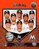 2012 Miami Marlins Team Composite Photo