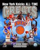 New York Knicks - All-Time Greats Composite Photo