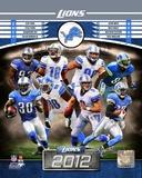Detroit Lions 2012 Team Composite Photo