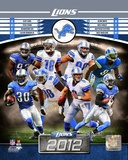 Detroit Lions 2012 Team Composite Photo
