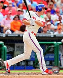 Chase Utley 2012 Action Photo