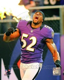 Ray Lewis 2012 Action Photo